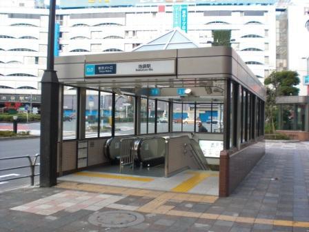 有楽町線池袋駅エスカレーターその他設置に伴う土木工事写真1